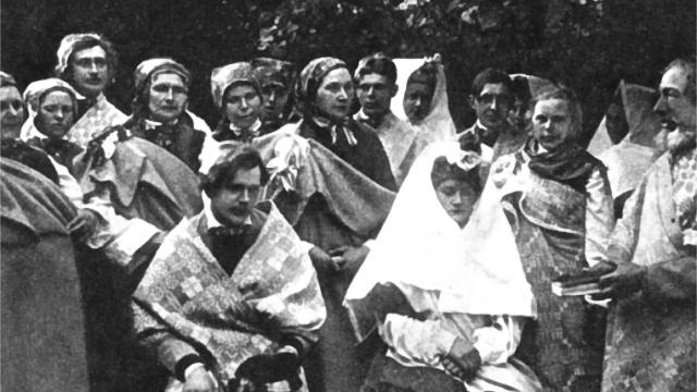 Latviešu kāzas Nīcā
