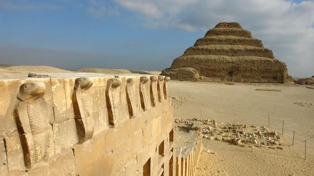 Džosera piramīdas noslēpumi
